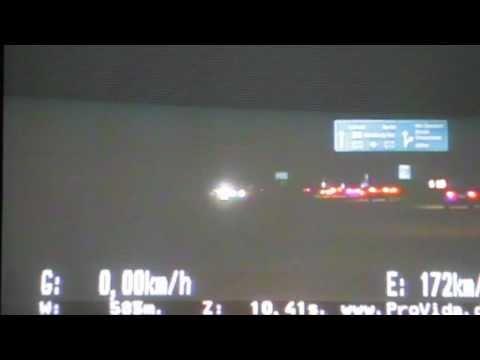 291 km/h: Polizei erwischt Rekord-Raser auf A1