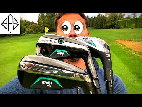 NEW 2018 TAYLORMADE GAPR LO. MID. HI (PROTRACER REVIEW)