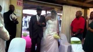 Wedding ceremony of Sandile and Nonhlanhla