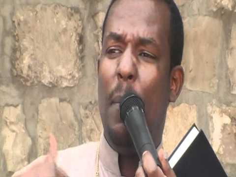 Deacon Begashaw desalegn Preaching In Jerusalem Golgota (keranyo)