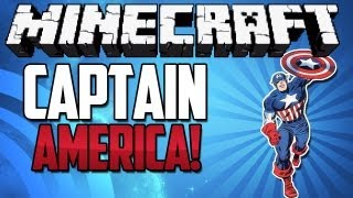 Minecrafted Plays! {EP.32} - Captain America!