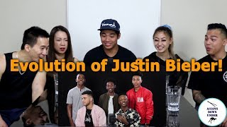 Download Lagu Asians React to Evolution of Justin Bieber - Aussie Asians Gratis STAFABAND
