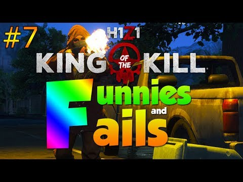 NO WAY THAT JUST HAPPENED... | H1Z1 KOTK - Funnies and Fails Ep. 7