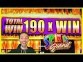 MASSIVE 190X Win on my First Attempt!! 🍀 BEGINNERS LUCK 🍀 Brian Christopher Slots at San Manuel