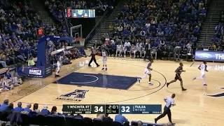 Best shooter in the NCAA. Landry Shamet highlights against Tulsa. 1/13/2018