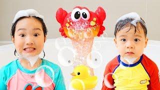 보람이와 건우의 신나는 목욕놀이 Bath Song Nursery Rhymes song for Kids from Boram