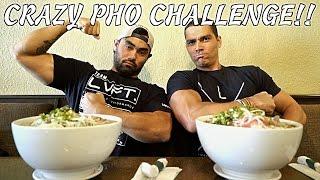 CRAZY PHO CHALLENGE!
