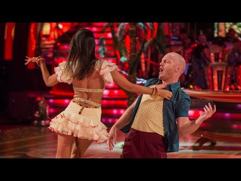 http://www.bbc.co.uk/strictly Jake Wood and Janette Manrara dance the Salsa to 'Mambo No5'.