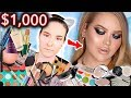 I SPENT $1,000 FOLLOWING A NIKKIETUTORIALS MAKEUP TUTORIAL