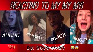 Download Lagu REACTING TO MY MY MY! BY TROYE SIVAN! Gratis STAFABAND