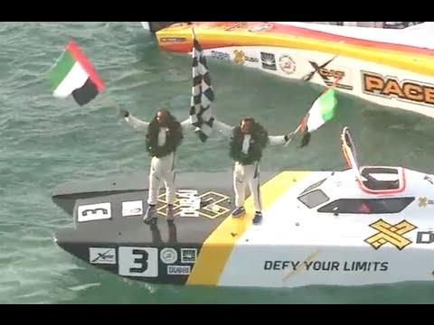 2015 UIM XCAT World Series, Season Finale (Round 6) - Highlights - Abu Dhabi, U.A.E.