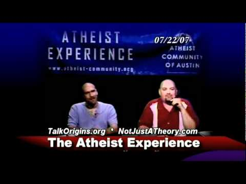 Evolution is not 'just a theory' - The Atheist Experience #501