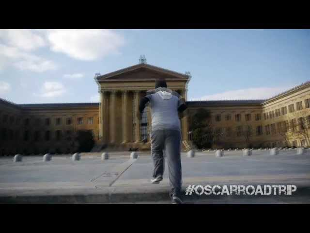 Oscar Roadtrip: Reenacting Rocky