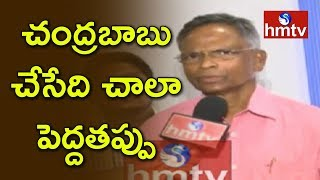 YCP MP Vara Prasad Face To Face On TTD Issues  | hmtv