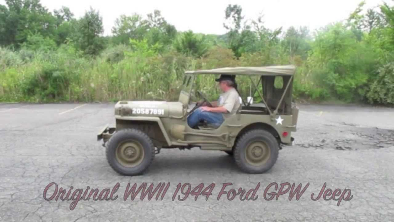Original WWII 1944 FORD GPW- Offered for sale at ima-usa ...