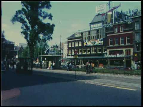 Amsterdam, Netherlands, Leidseplein in 1972