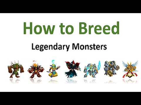 How to Breed Legendary Monsters In Monster Legends