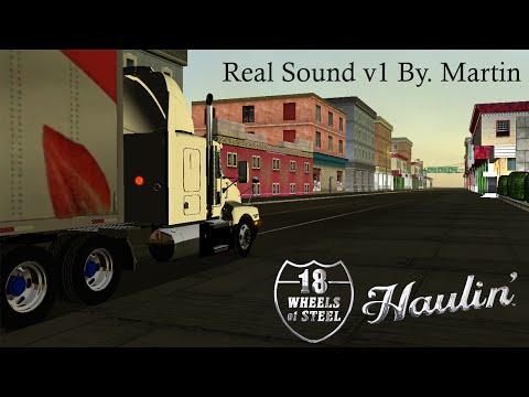 Real Sound v1 By.Martín 18 Wheels of Steel Haulin 2015 [HD] (Descarga)