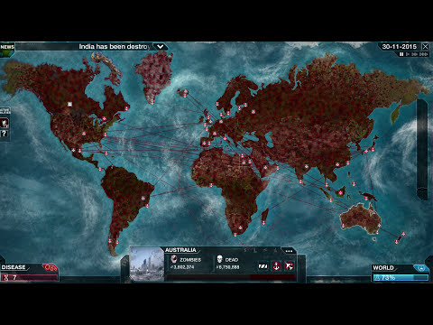 Free Hugs! Zombie Necroa Virus Plague Inc: Evolved Gameplay