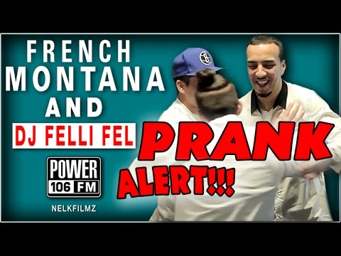 French Montana Gets Pranked; Super Fan Faints On Camera