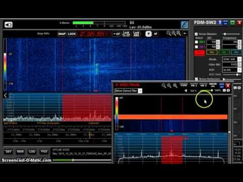 27 MHz CB Radio from USA received in Germany on Elad FDM-S2