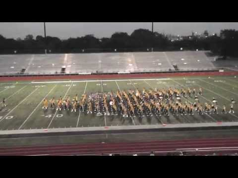 Nederland High School Band 2014 - UIL Region 10 Marching Contest
