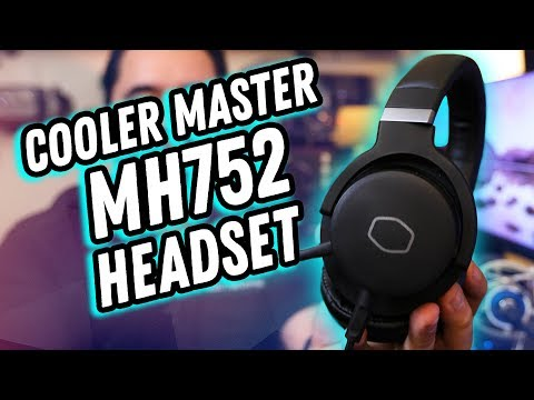 IS IT AWESOME? // Cooler Master MH752 Headset Review! // 7.1 Surround USB