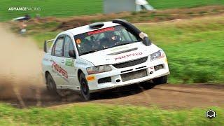 G. Tregubov / M. Bezrukov / Mitsubishi Lancer Evo IX   Rally Gukovo 2019   Stage Cross
