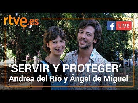 Charlamos con Andrea del Río y Ángel de Miguel, Alicia e Íker en 'Servir y proteger' | RTVE.es