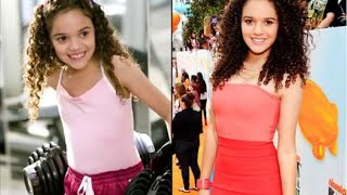 Personaje de Disney Madison Pettis como cambio a traves de su carrera