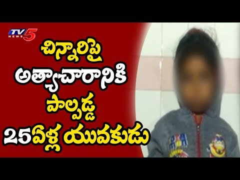 Rape Attempt on Minor Child in Fateh Nagar, Hyderabad | TV5 News