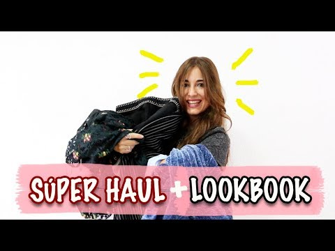 SÚPER HAUL OTOÑO 2017 Y LOOKBOOK | HAUL ZARA, TOPSHOP, BERSHKA, PULL AND BEAR, PRIMARK...