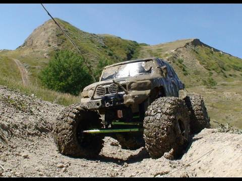RC ADVENTURES - SCALE RC TRUCKS #12 - EVENT #2 OBSTACLE COURSE - TTC 2009