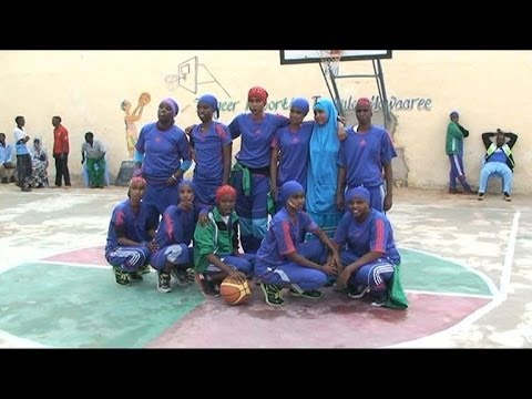 Women's basketball restarts in Somalia after 24 years
