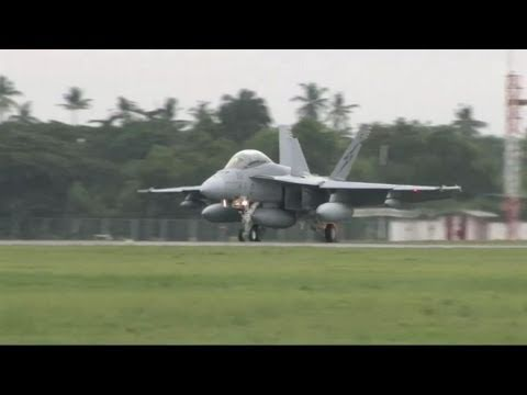 BS11: Super Hornets Arrive in Malaysia