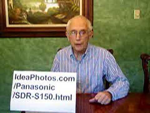 Panasonic SDR-S150 Camcorder VideoCamera Digital Video Buy