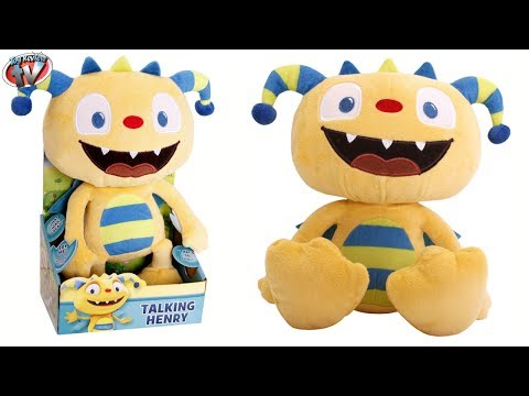 Disney Junior Henry HuggleMonster Talking Henry Plush Toy Review. Golden Bear