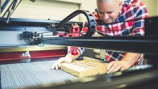 Affordable CO2 Hobby Laser Cutter - 65 Watts - Boss Laser Review