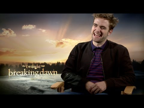 BREAKING DAWN (Part 2) Interviews: Robert Pattinson, Kristen Stewart and Taylor Lautner