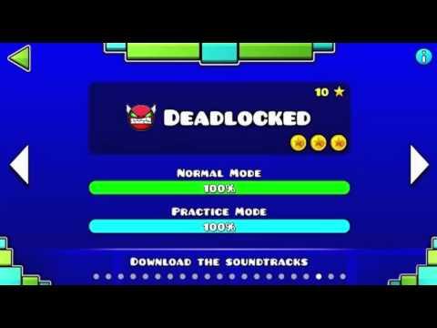 Geometry Dash - Deadlocked - 1 Hour Version