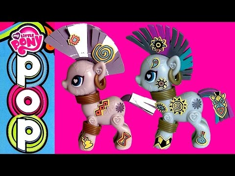My Little Pony Pop Zecora Style Kit ❤ Build your Ponies snap, clip and style by DisneyCollector