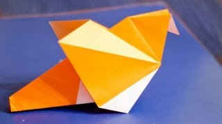 How To Make An Easy Origami Bird