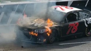 NASCAR Martinsville extended race highlights
