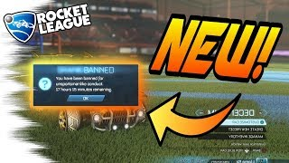 Rocket League Update: BE CAREFUL - New BANNING SYSTEM Coming! (Tips, Scammer Ban News)