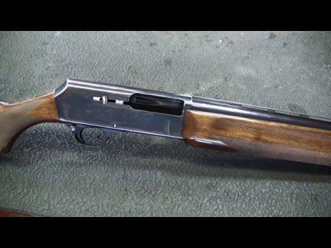Browning Model 2000 Shotgun Gas Piston Disassembly
