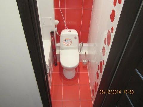 Дизайн маленького туалета панелями пвх фото