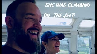 BEHIND THE SCENES FUNNY TOUR  of Less Junk More Journey's Airstream and How to Youtube Answers!