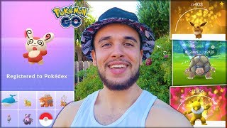 GETTING THE RAREST RESEARCH REWARD IN THE GAME! (Pokémon GO)