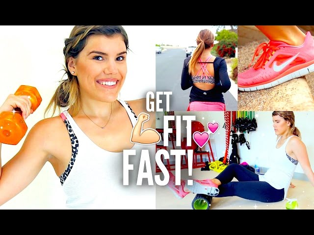 How to Get Fit & Healthy FAST!