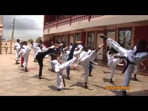 "GHANA""I LOVE TAEKWONDO VIDEO CONTEST ""(QUEENSCOURT TAEKWONDO ACADEMY)"